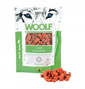 WOOLF morceaux d'agneau pour chiens et chats