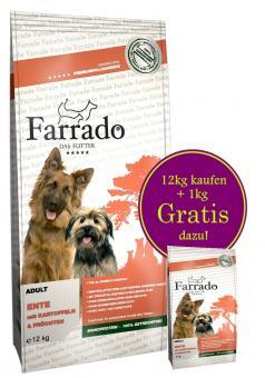 FARRADO Chien - Canard sans cereales