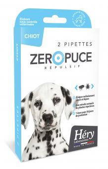 Héry Pipettes Répulsives Zéro Puce - Chiot