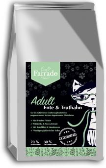 Farrado Chat - Canard et Dinde, sans céréales 400 gr.