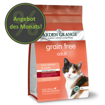 Arden Grange Chat - Saumon - sans céréales 2 kg