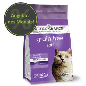 Arden Grange Chat - Allégé/Senior - sans céréales