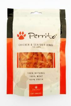 Perrito Friandise au poulet et Fruits de mer pour chats et chiens 100 gr.