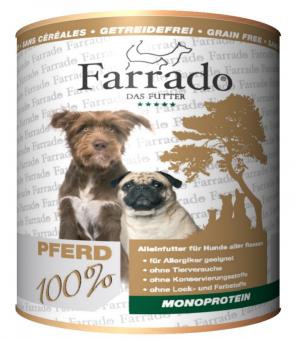FARRADO Chien 100% Pure Cheval 800 gr.