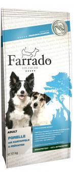 Farrado Chien - Truite sans cereales 2 x 12 kg offre spéciale 5%