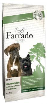 Farrado Chien - Lapin sans cereales 2 x 12 kg offre spéciale 5%
