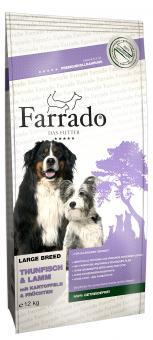 Farrado Chien Grandes Races - Thon et Agneau sans Cereales 4 kg