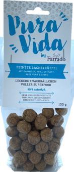 "FARRADO ""Pura Vida"" Superfood - truffes de saumon 100% naturelles"