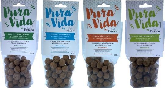"FARRADO ""Pura Vida"" Superfood - Délicieuses boules de snack 100% naturelles"
