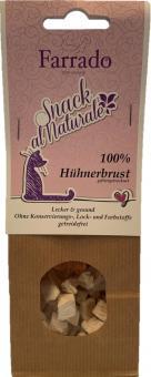 FARRADO Friandises al Naturale 100 % Poulet, lyophilisée 30 gr.
