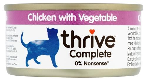 Thrive Chat - Poitrine de poulet aux Légumes 75g