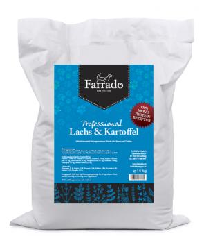 Farrado Chien - Saumon et Pomme de Terre 14kg MONO