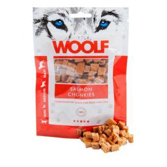 WOOLF bouchées de saumon pour chiens et chats