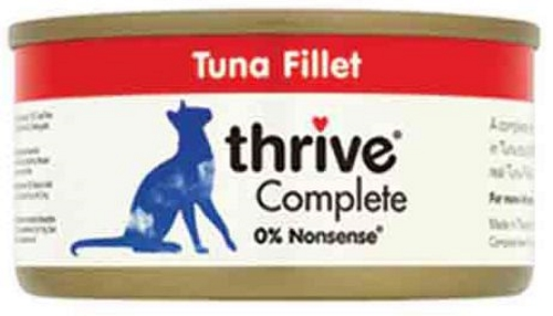 Thrive Chat - Filet de Thon 75g