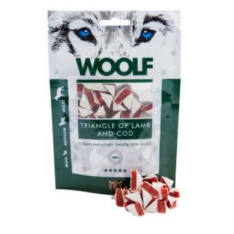 WOOLF triangle d'agneau et de la morue pour chiens et chats