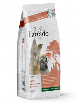FARRADO Chien - Canard sans cereales 2 x 12 kg offre spéciale 5%