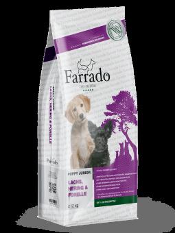 Farrado Chiot/Junior - Saumon sans cereales 2 x 12 kg offre spéciale 5%