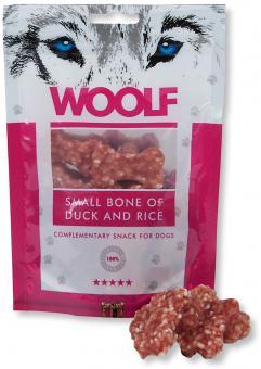 WOOLF petit os de canard avec du riz